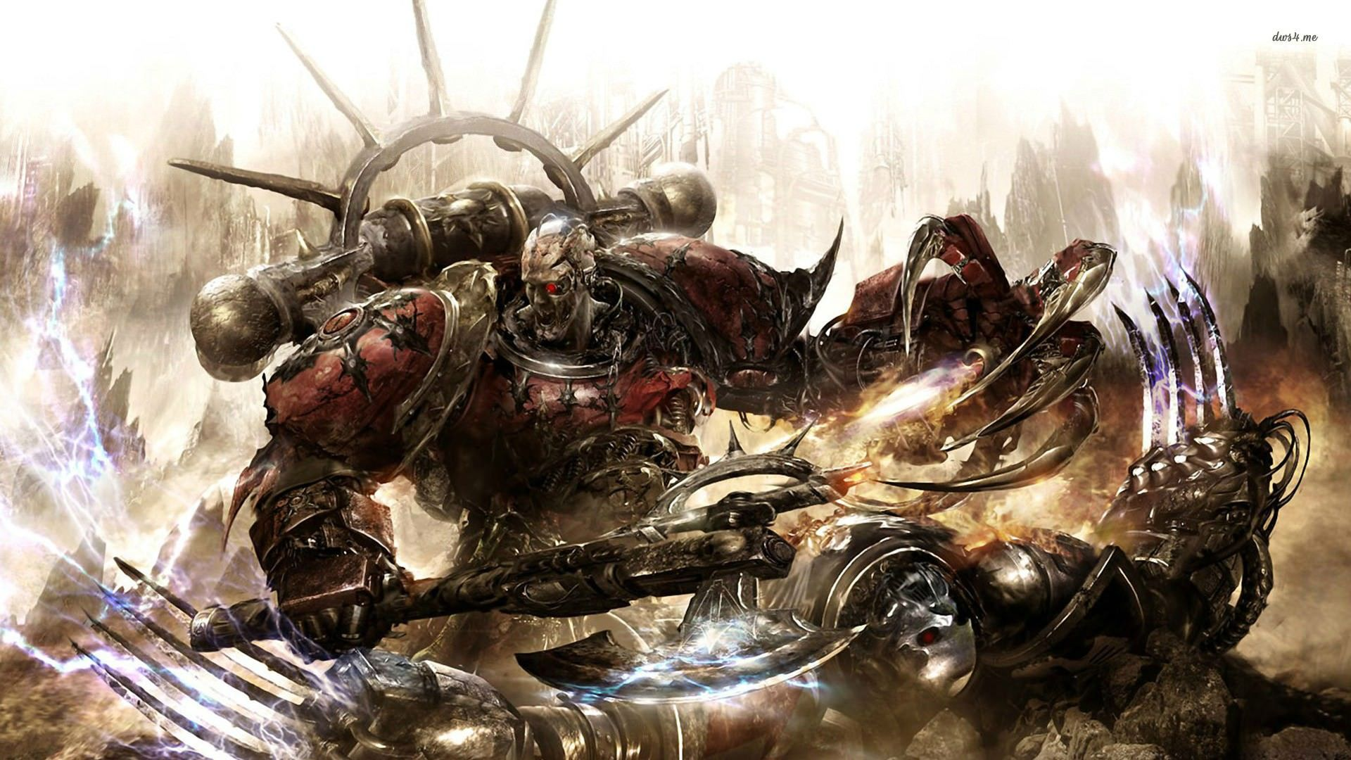 High Definition Mobile Phone And Desktop Wallpapers Artistic Wallpaper Warhammer 40k Artwork Warhammer Art