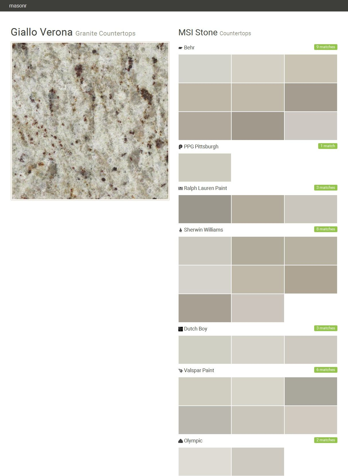 Msi stone kitchen visualizer wow blog for Valspar paint visualizer