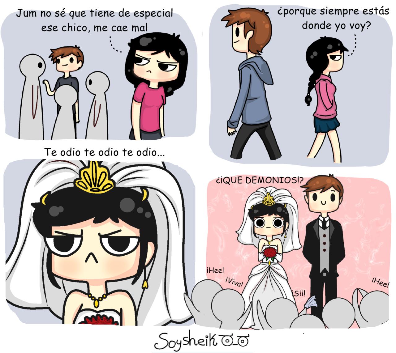 Soysheik Amor Odio Comics Graciosos Memes Divertidos Memes