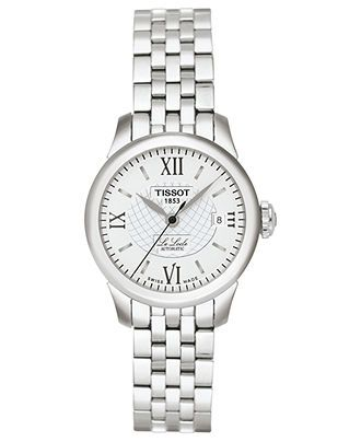 17d4b837c95 Tissot Watch, Women's Swiss Automatic Le Locle Stainless Steel Bracelet  42mm T41118333 - Tissot - Jewelry & Watches - Macy's