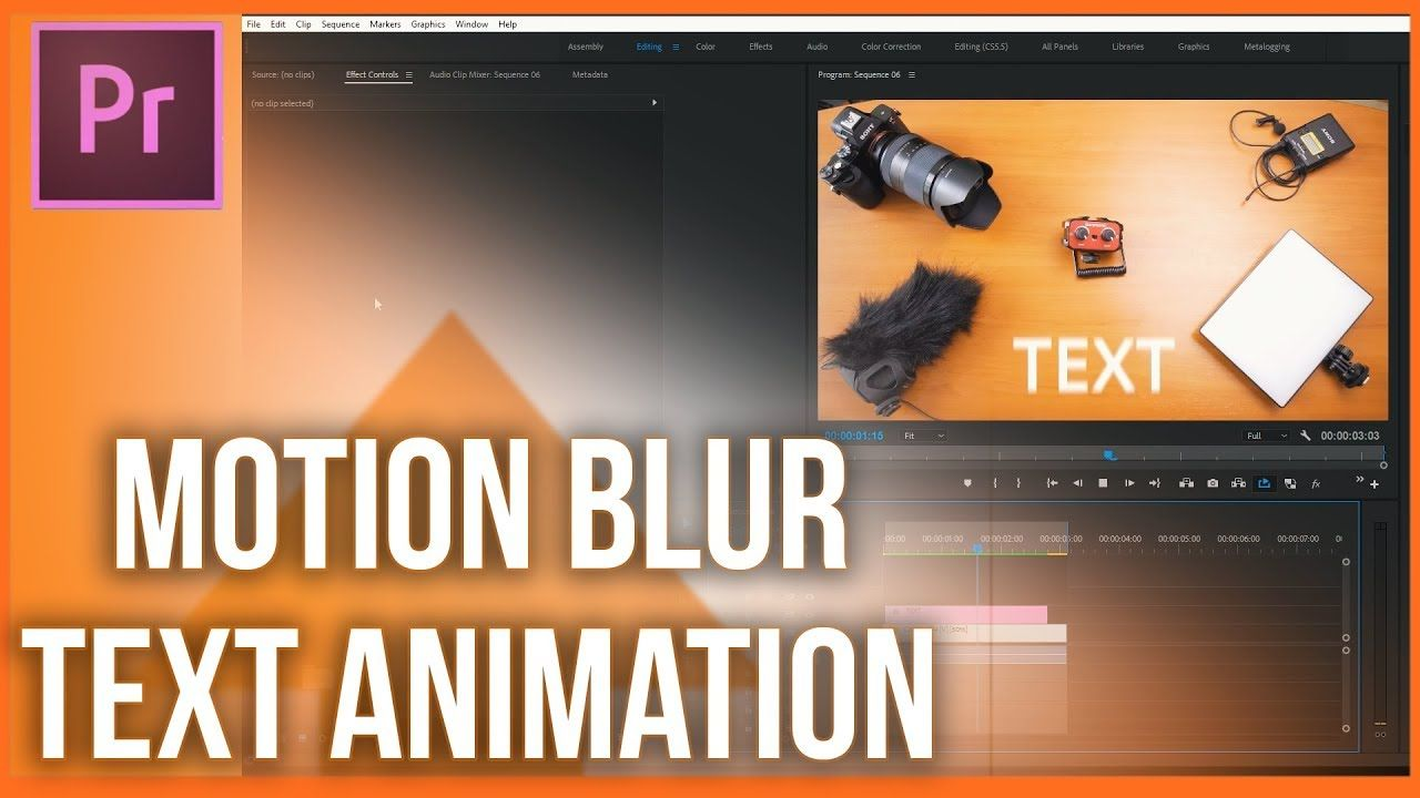how to add motion blur in premiere pro animate text premiere pro