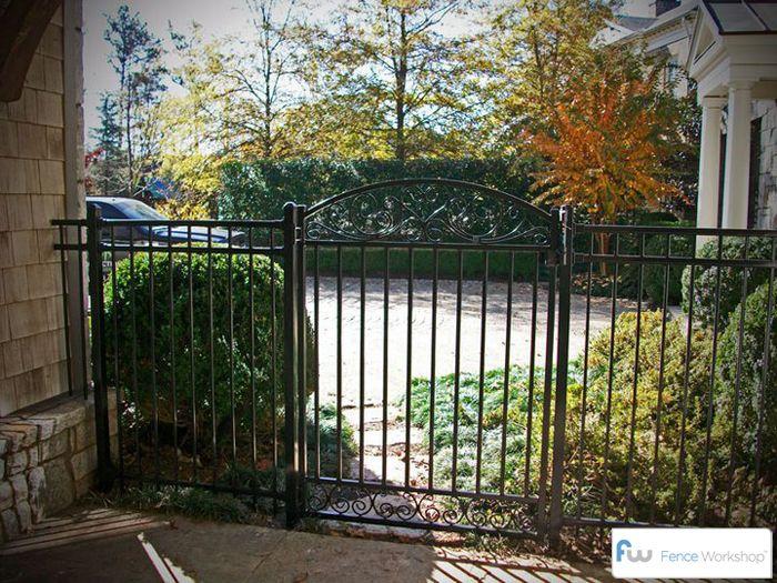 Garden Gates | Garden Gates Atlanta, GA | Decorative Metal Walk Gate  Installation