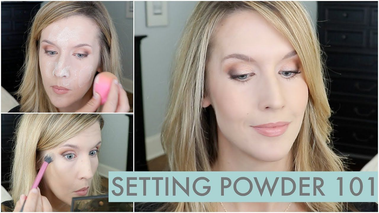 How To Use Setting Powder For Natural Long Lasting Makeup That S Not Flat Youtube Long Lasting Makeup Makeup Setting Powder Setting Powder