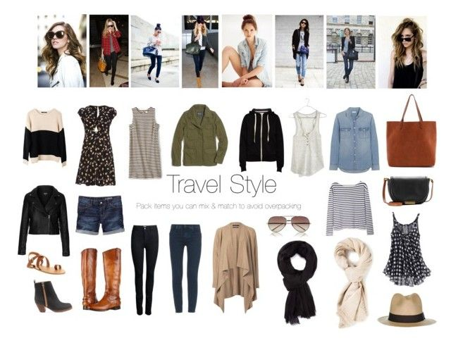 """Travel style: mix & match"" by singlecatlady ❤ liked on Polyvore featuring FOSSIL, Topshop, Madewell, ONLY, J Brand, Gap, River Island, Marc by Marc Jacobs, Frye and Acne Studios"
