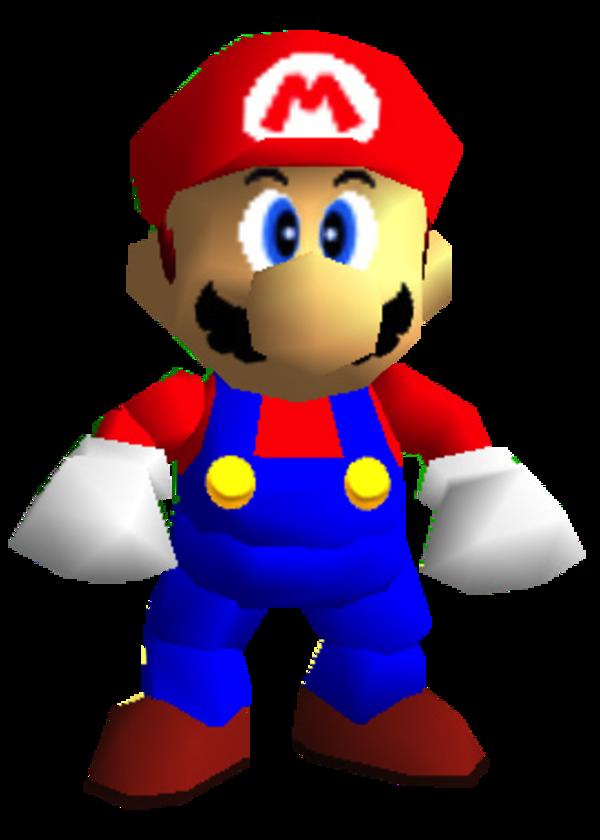 Mario S Super Mario 64 Model Super Mario 64 Super Mario Memes Super Mario Mario