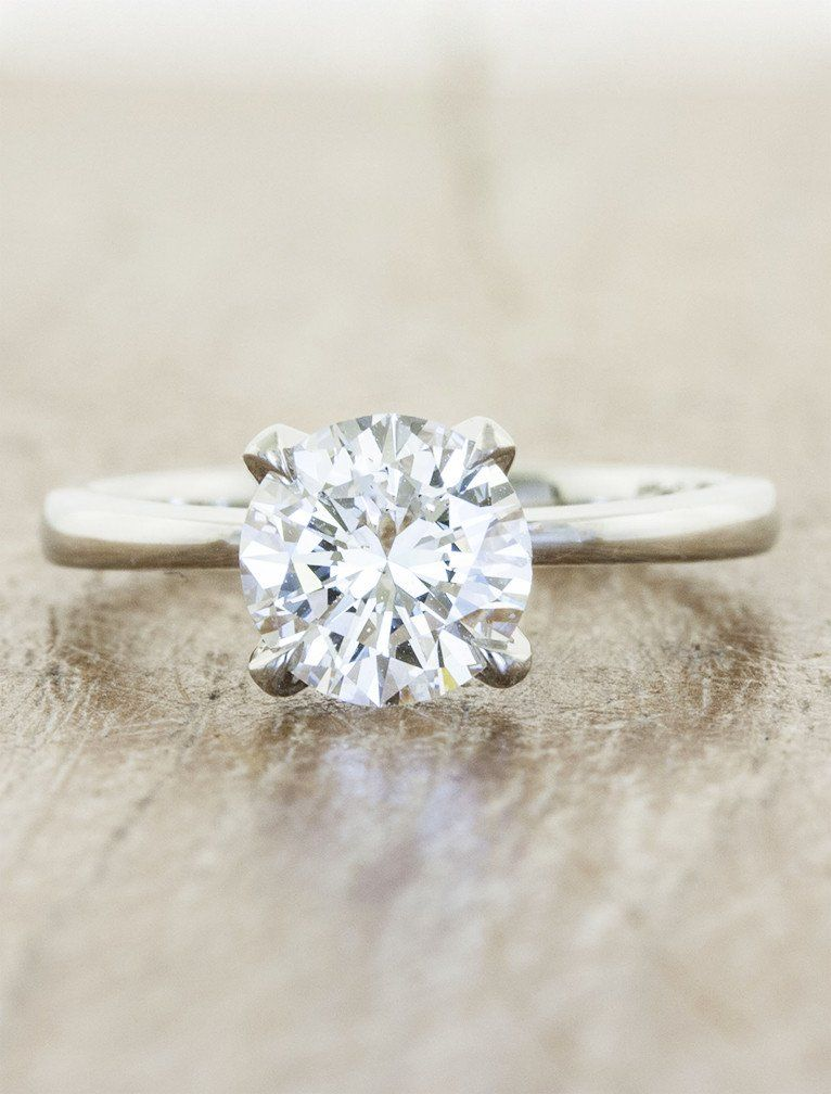 Eve | August 2014 and Solitaire rings
