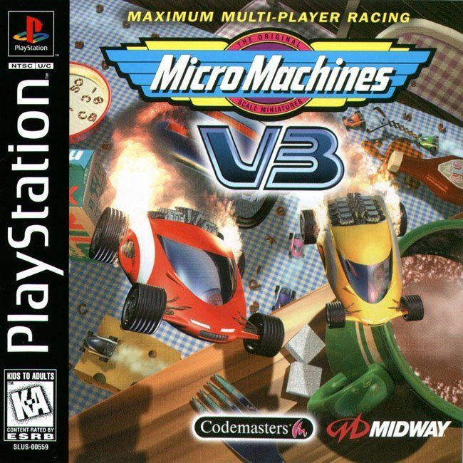 Comprar Jogos Ps 2 Xbox 360 Dvd Xbox360 Playstation 2 Ps2: Jogo MICRO MACHINES V3 Para PlayStation PSX PS1 PSONE PS2