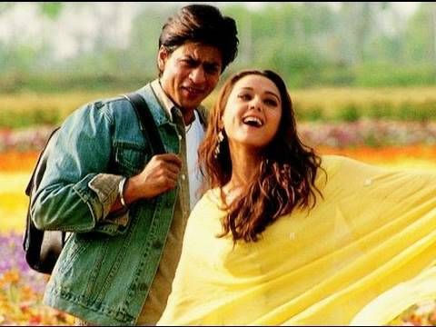 Slower Song From Veer Zaara Classic Bollywood Running Through Fields Of Flowers Scene Bollywood Musica
