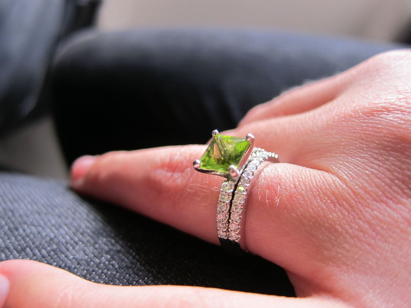 My engagement ring, and wedding band. So beautiful! | vanity affair ...