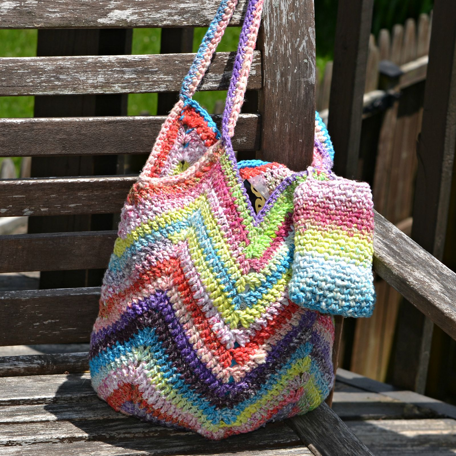 Ravelry: Solid Granny Square Bottom Bag Crochet Tutorial by ...