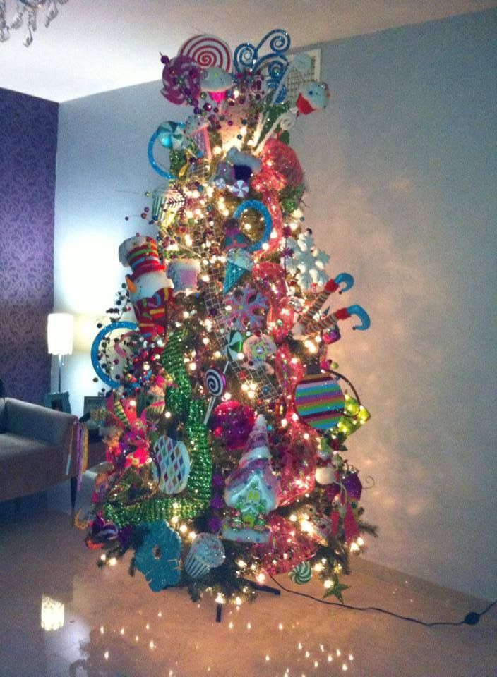 xmas tree christmas tree decorations christmas holidays candyland birthday parties birthdays