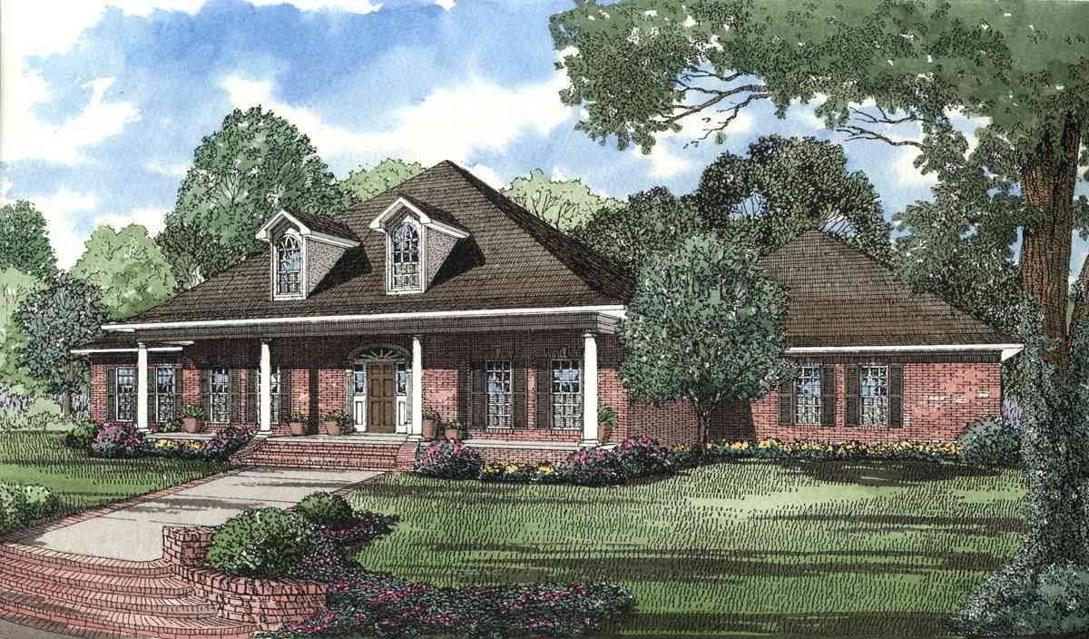 Plan 59472ND Alternate Exterior Available House plans