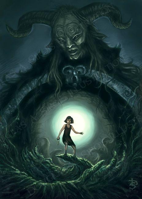 ☆ Pan's Labyrinth :¦: By Artist Douglas A. Sirois ☆