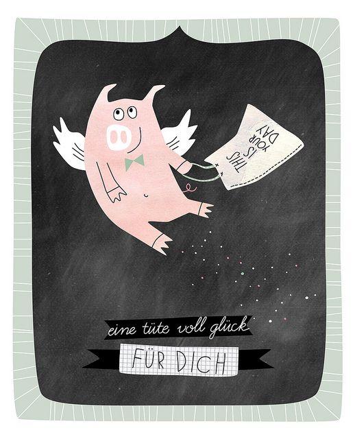Glücksschwein Via Flickr Gute Wünsche Glücksschwein