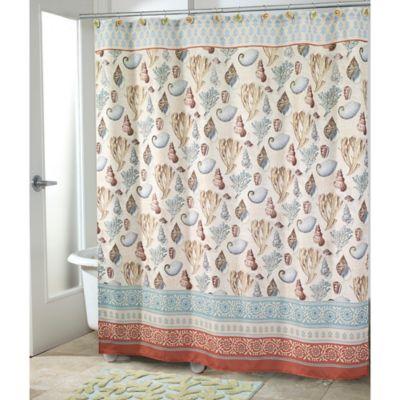 Avanti Seabreeze Shower Curtain Bedbathandbeyond Com Beach