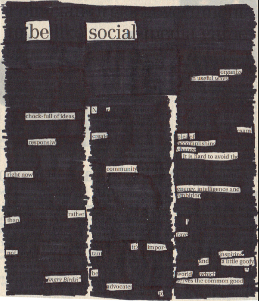 poetry lesson idea blackout poetry using old newspapers literacy poetry lessons teaching. Black Bedroom Furniture Sets. Home Design Ideas