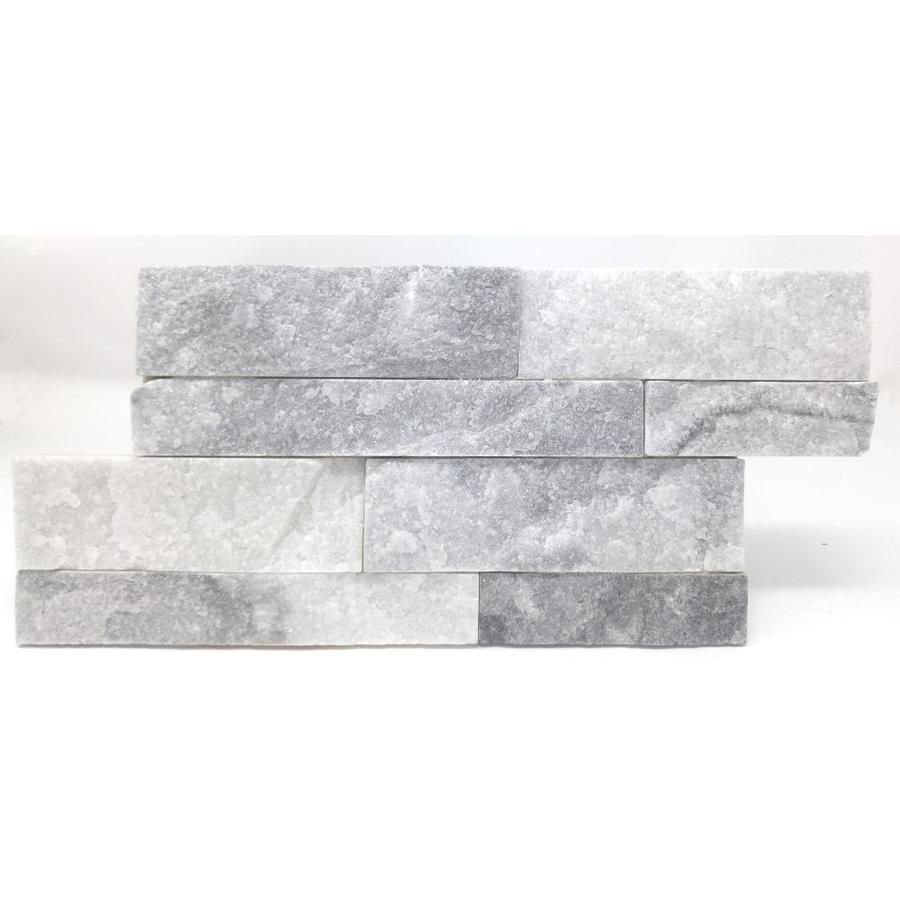 Avenzo White 6 In X 12 In Natural Brick Mosaic Wall Tile Lowes Com
