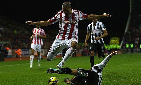 Image result for Stoke City vs Newcastle