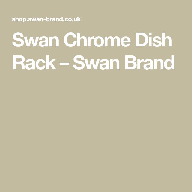 Swan Chrome Dish Rack