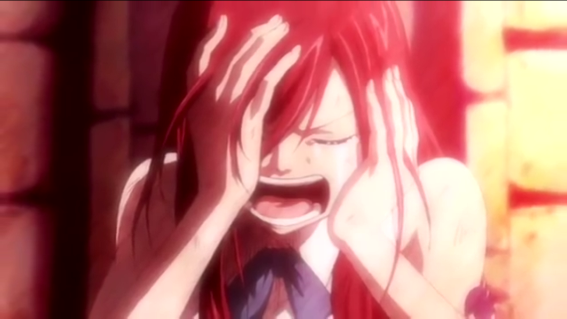 This is what Erza looks like if you take Jellal away from her.
