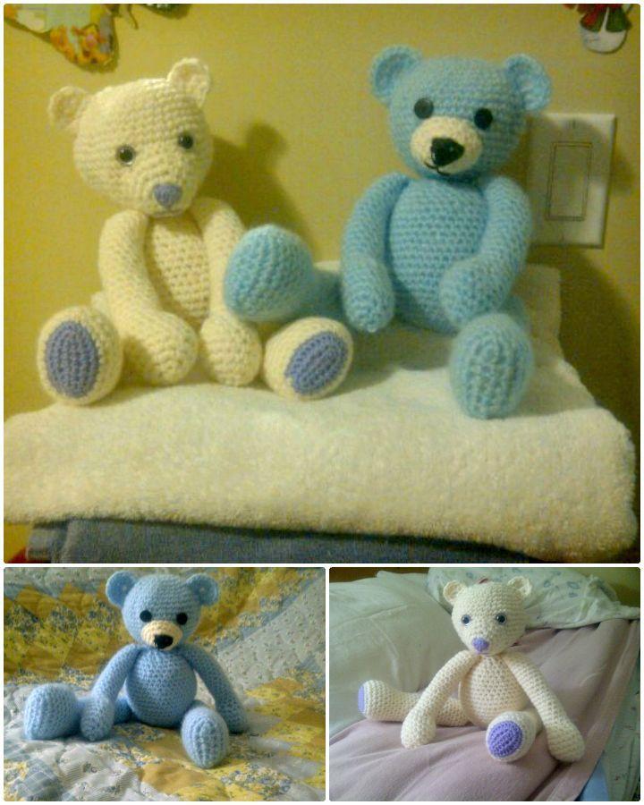 50 Free Crochet Teddy Bear Patterns Free Crochet Patterns