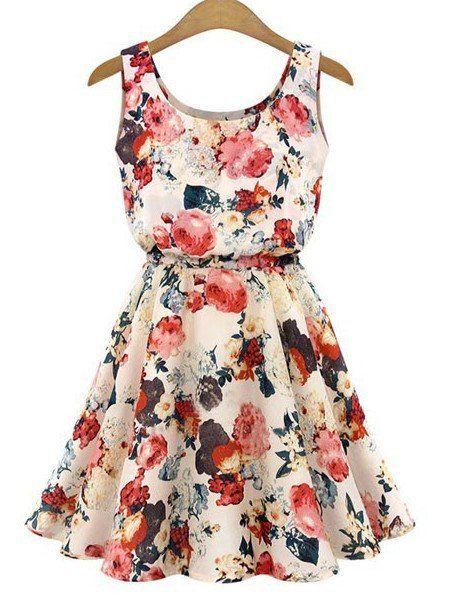 Easy Breezy Floral Summer Dress