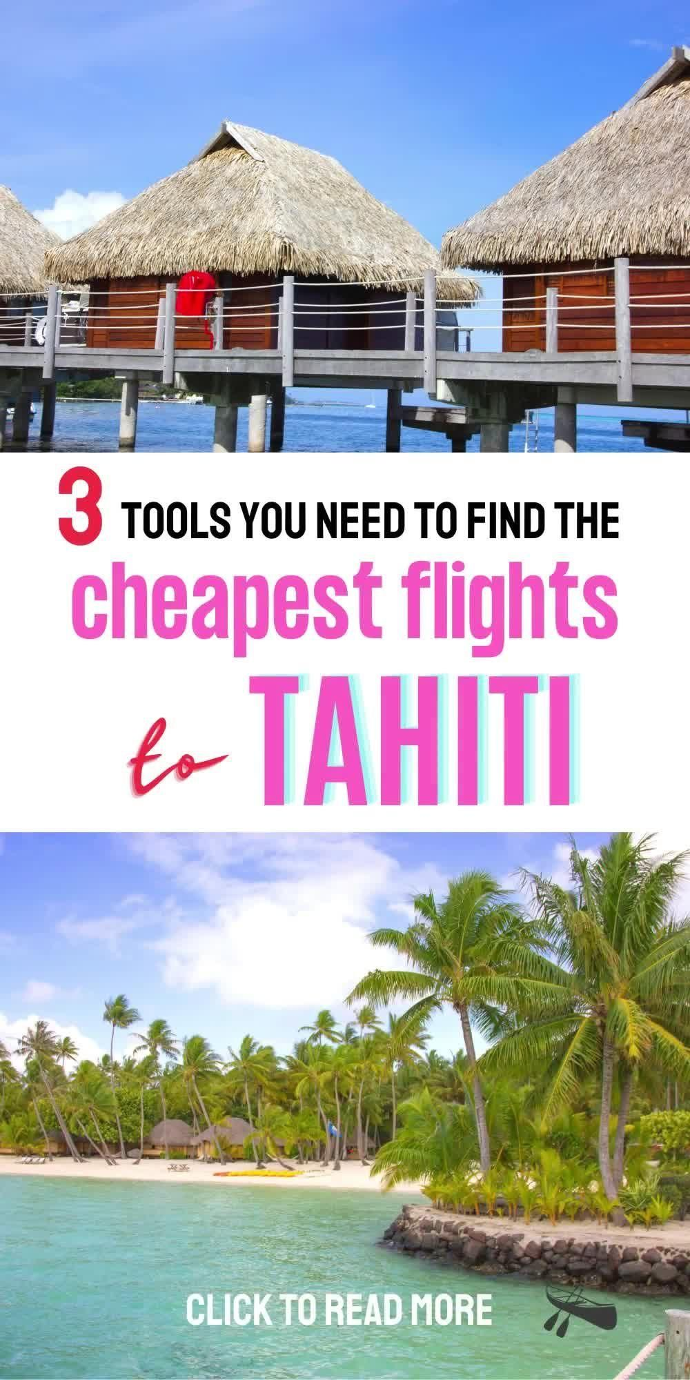 How to book cheap flights from LAX to Tahiti | Air