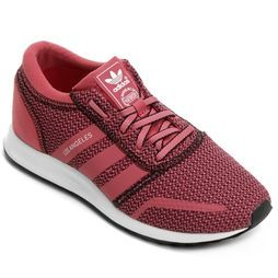 9e364766d08 Tênis Adidas Los Angeles W - Rosa