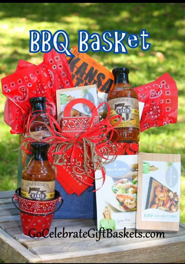 BBQ Gift Basket Shipped From Go Celebrate Baskets Great For Fathers Day Birthday