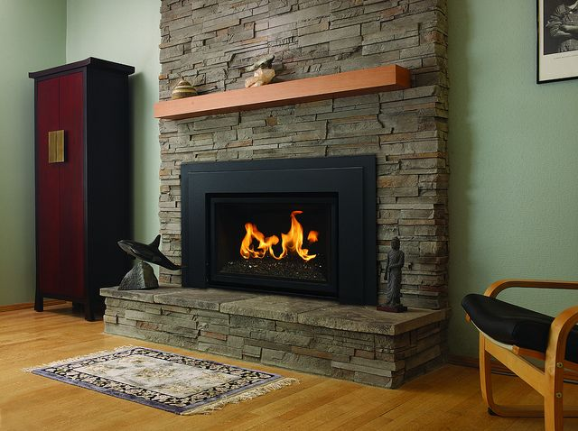 Stay Warm Even When The Power Goes Out Propane Fireplace