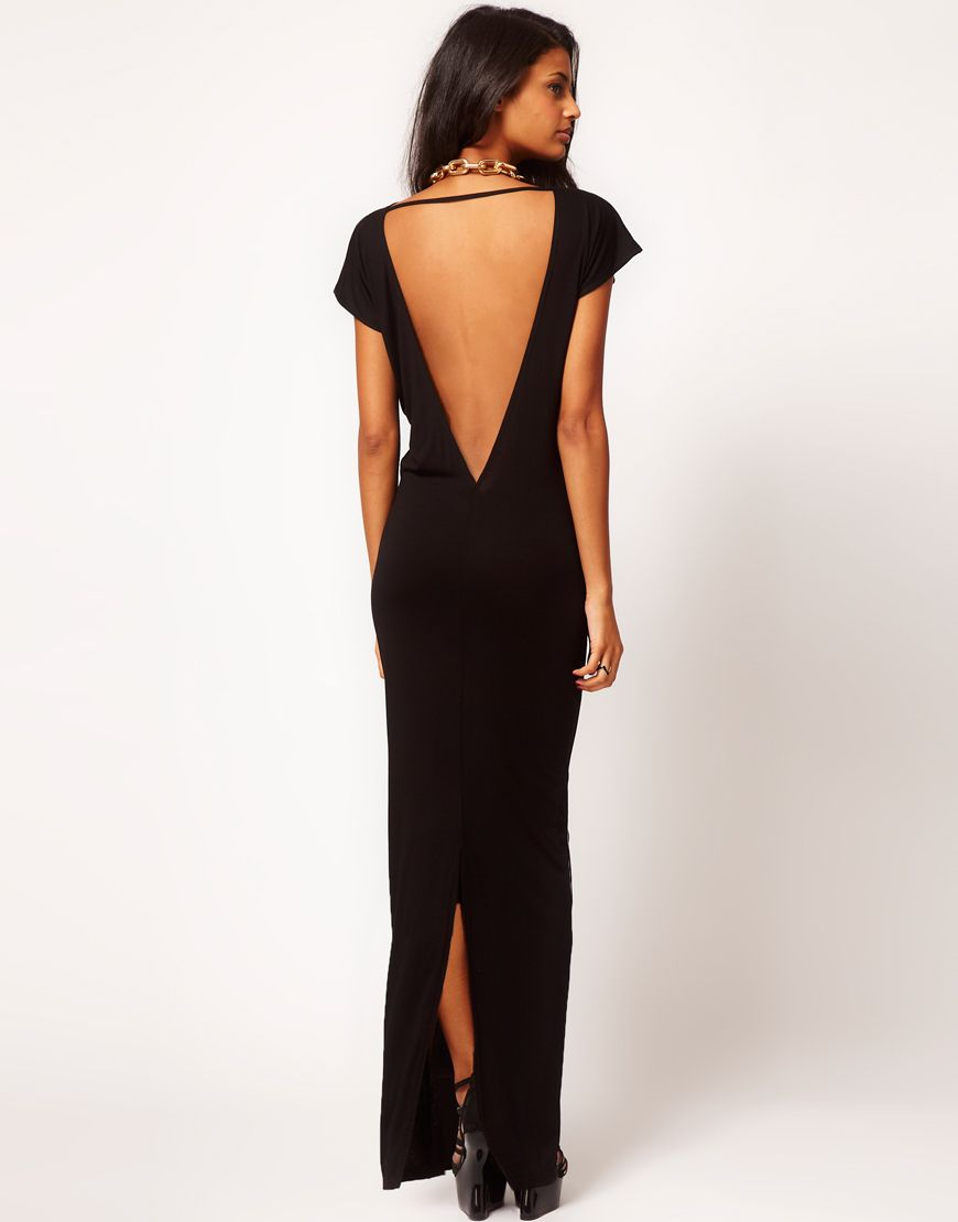 Asos maxi dress with low back fashion pinterest maxi dresses