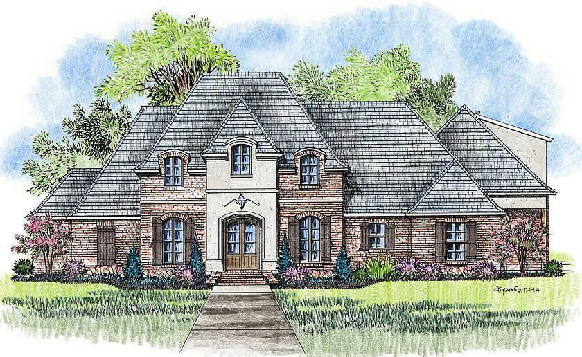 Madden Home Design - The Poydras Home Ideas Pinterest Acadian