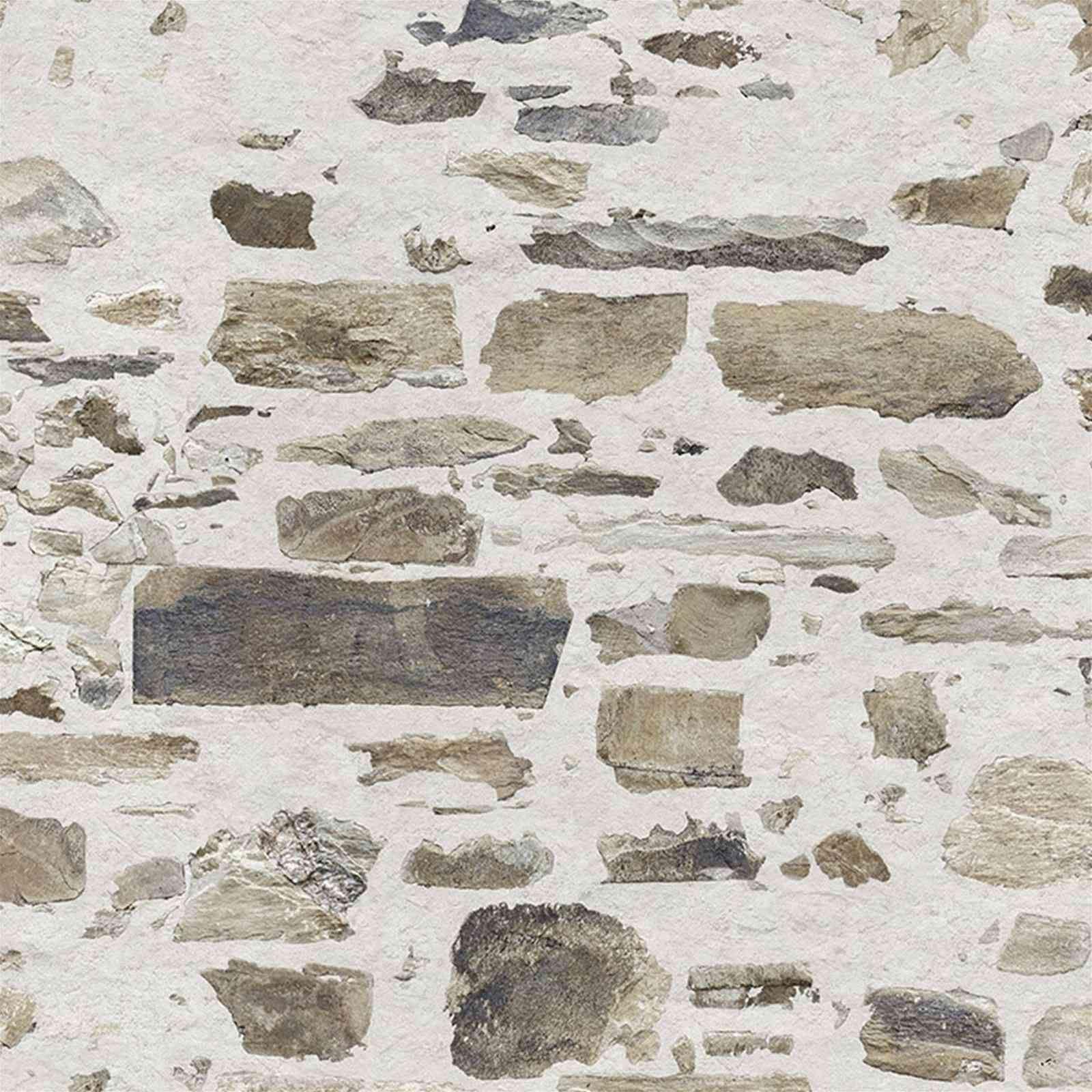 papier peint imitation pierre de taille