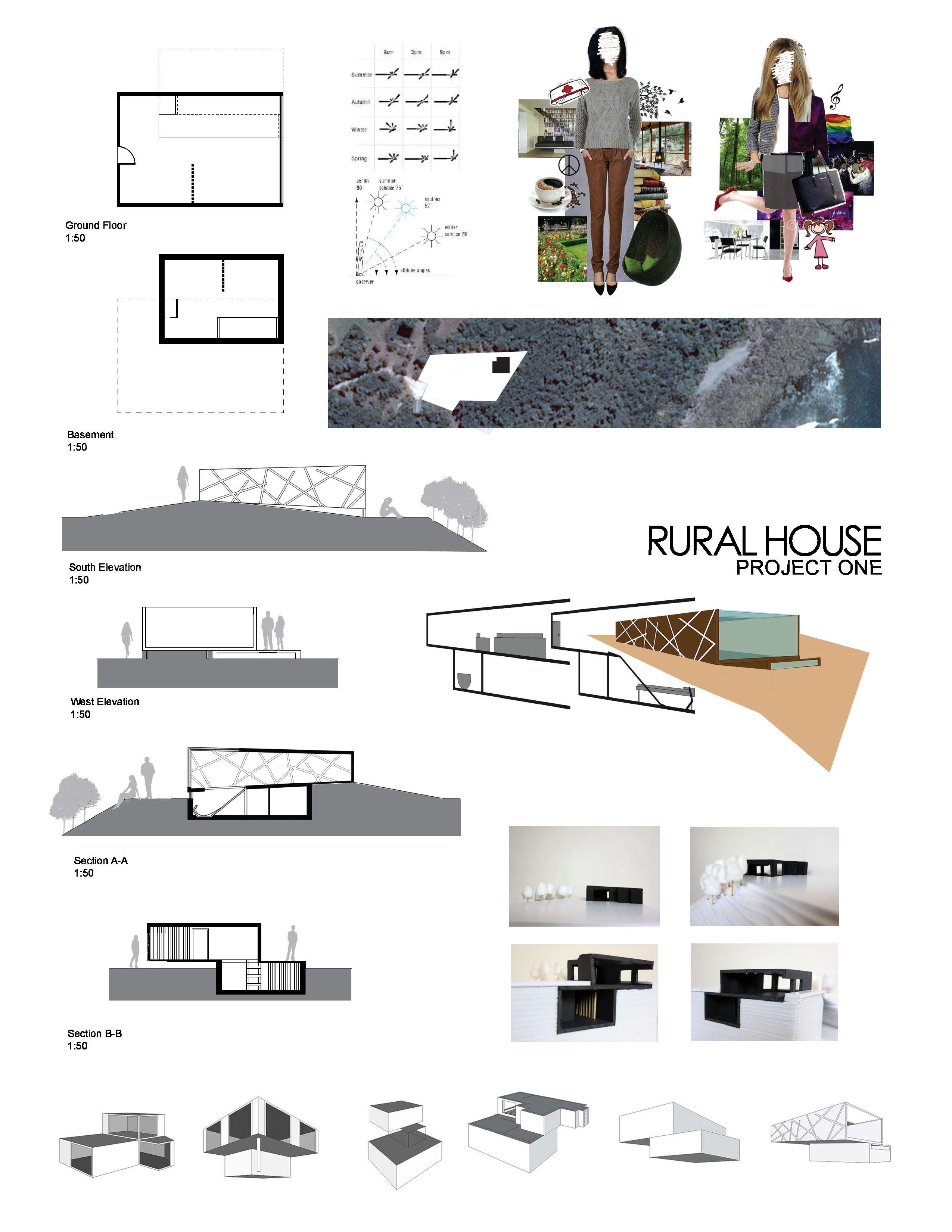 Rural house final presentation Dharmishta Painter - First Year Architecture