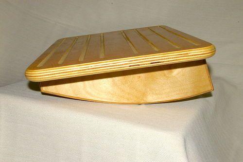 Under Desk Foot Rest Prototype Foot Rest Woodworking Projects Desk Small Woodworking Projects
