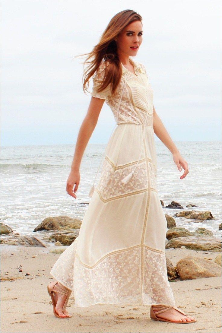 beautiful style casual bohemian wedding dresses ideas dress