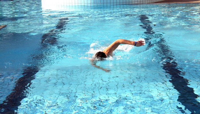 Learn How this exercises in the pool for rapid weight loss