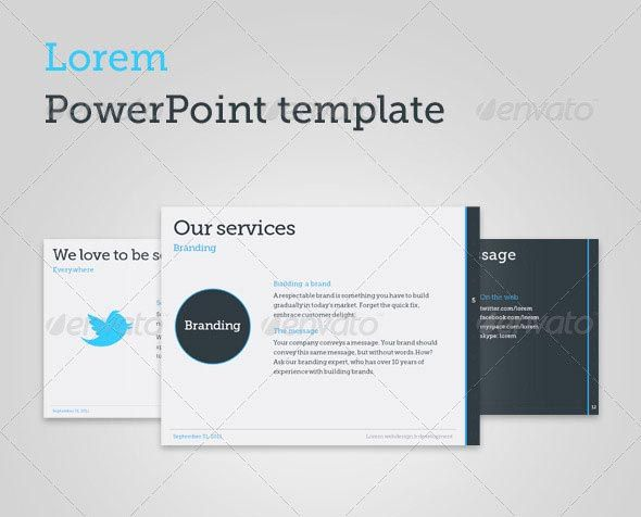lorem powerpoint template | powerpoint | pinterest | powerpoint, Powerpoint templates