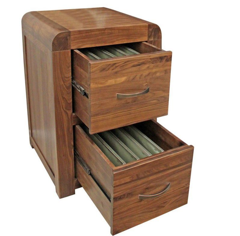 Delicieux Lateral Solid Wood File Cabinets With 2 Drawers