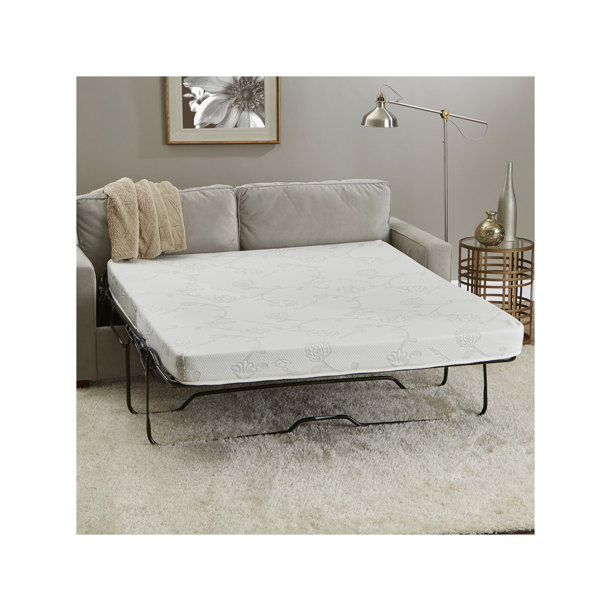 CertiPURUS 4.5inch Memory Foam Sofa Sleeper Mattress