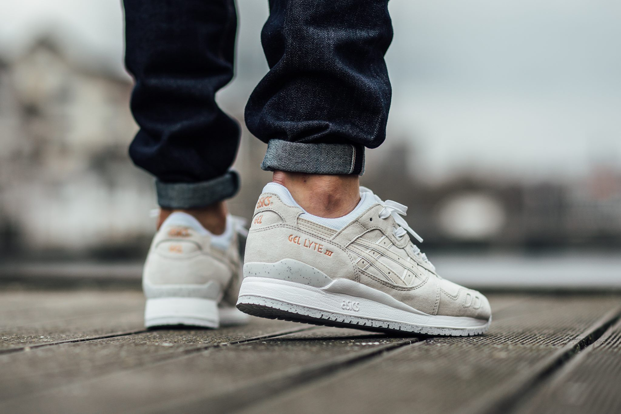 asics buty gel-lyte iii 'rose gold pack' (h624l-9999)