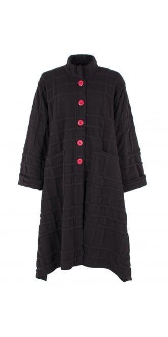 idaretobe Exclusive Natural-Black Linen Dress | idaretobe