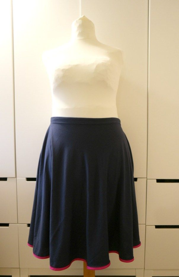 How To Sew A Half Circle Skirt Without A Pattern