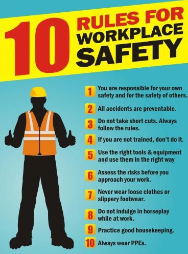 Short Safety Topics For Work