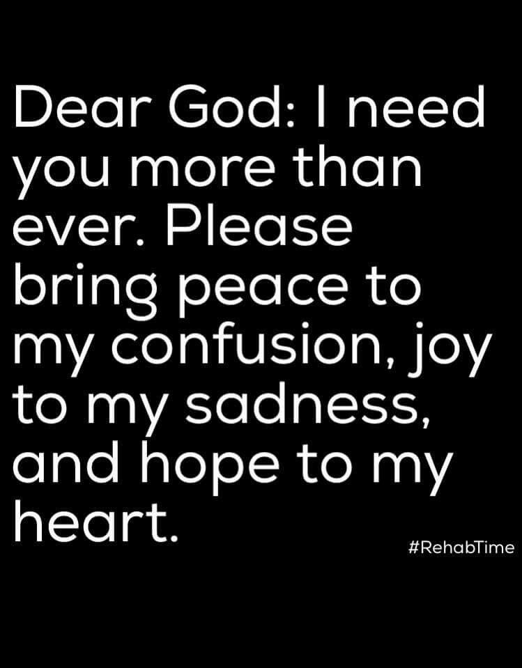 Dear God I Need You More Than Anything I Love The Lord God