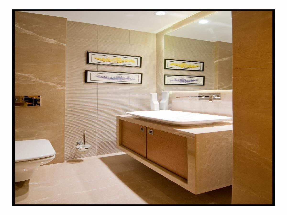 Bathroom Tiles Mumbai modern bathroom, designarchitect: amit walavalkar adorn space