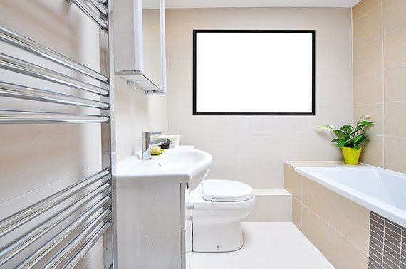 Wall Mockup Bathroom Frame Mockup Display Guide