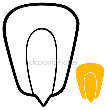 Resultado de imagen para dibujo de grano de maíz | Dibujos a línea ...