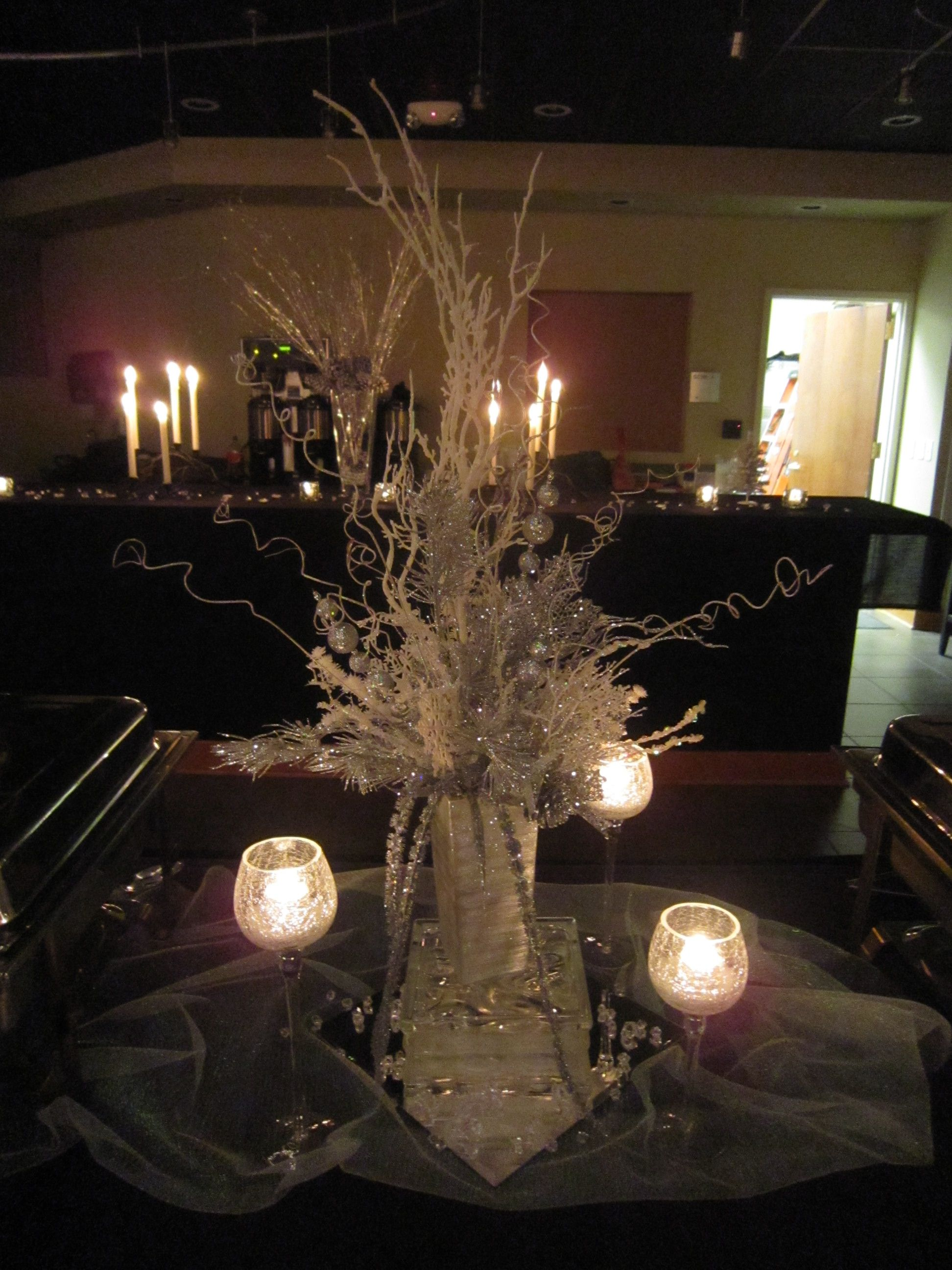 Winter Wonderland Rehearsal Dinner Rehearsal Dinner Decorationswedding