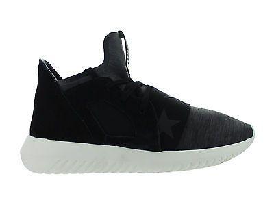 Womens Adidas Tubular Defiant W Core Black Off White S80291